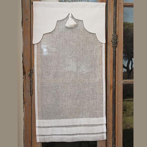 brise bise brise bise lin blanc cantonni re originale n11. Black Bedroom Furniture Sets. Home Design Ideas