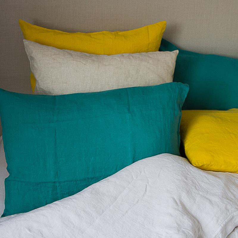 linge de lit housse de couette lin lav. Black Bedroom Furniture Sets. Home Design Ideas