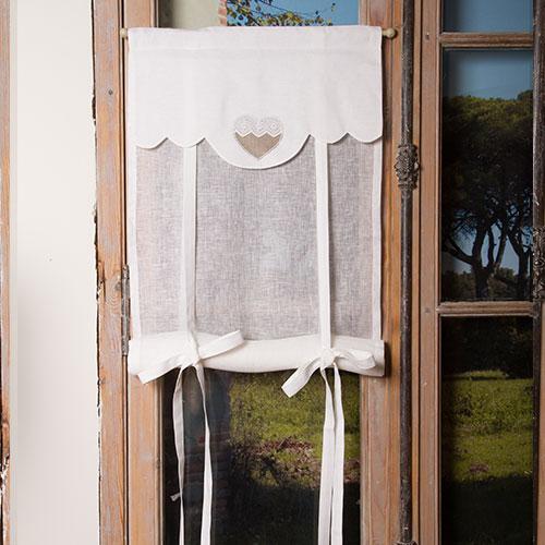 stores store lin blanc coeur romantique. Black Bedroom Furniture Sets. Home Design Ideas